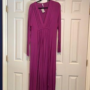 Rachel Palley fascia long kaftan style dress